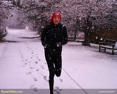 Running in Tribute: #MegsMiles in a New England Snow Storm