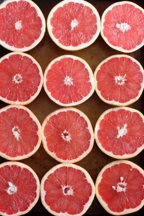 Grapefruit Campari Sorbet // www.completelydelicious.com