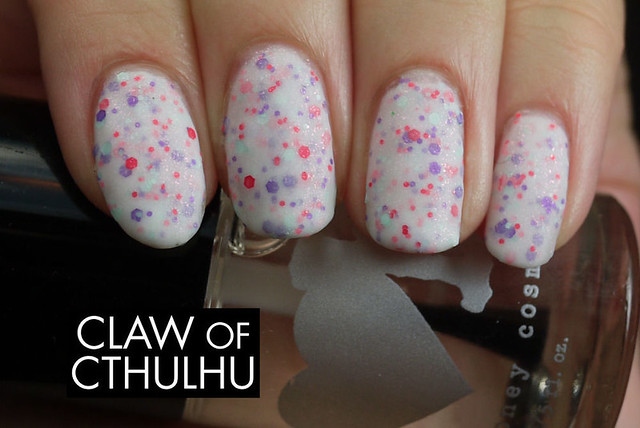 Rainbow Honey Sweet Talk Swatch  (with OPI Matte Top Coat)