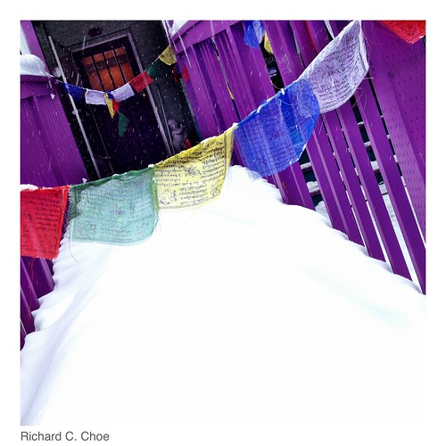 Prayer Flags 2  (2014, 2.9) by rchoephoto