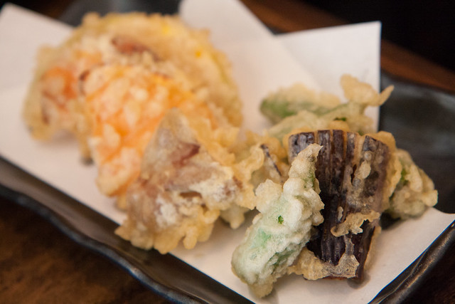 Vegetable tempura, Sobakoh