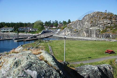 Fleming Beach, Esquimalt, Victoria, Vancouver Island, British Columbia, Canada