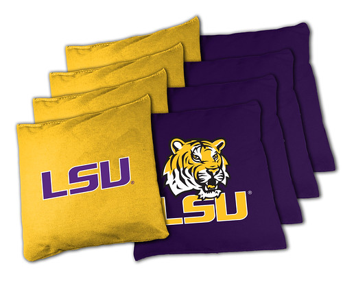 LSU Tigers Cornhole Bags