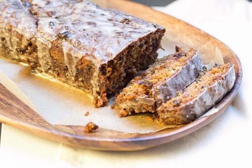 Pastinakenkuchen mit Zimtglasurmit Zimtglasur-2