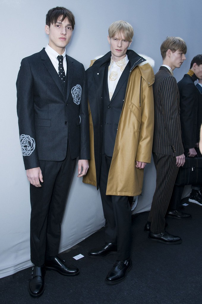 FW14 Paris Dior Homme201_Luca Stascheit, Knut Roertveit, Simon Fitskie(fashionising.com)