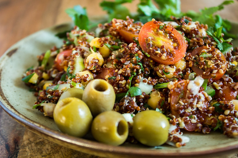 quinoa & fresh herb salad