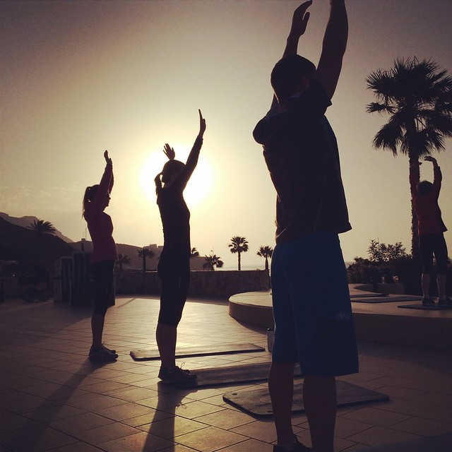Triallan - Sun salutation - Playitas resort