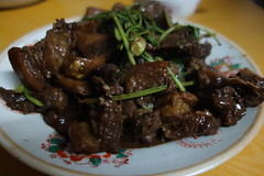 meal(1.0), beef bourguignon(1.0), goat meat(1.0), food(1.0), dish(1.0), cuisine(1.0),