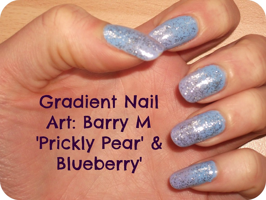 NOTD Blueberry Prickly Pear Gradient