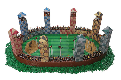 Quidditch Pitch by Bippity Bricks