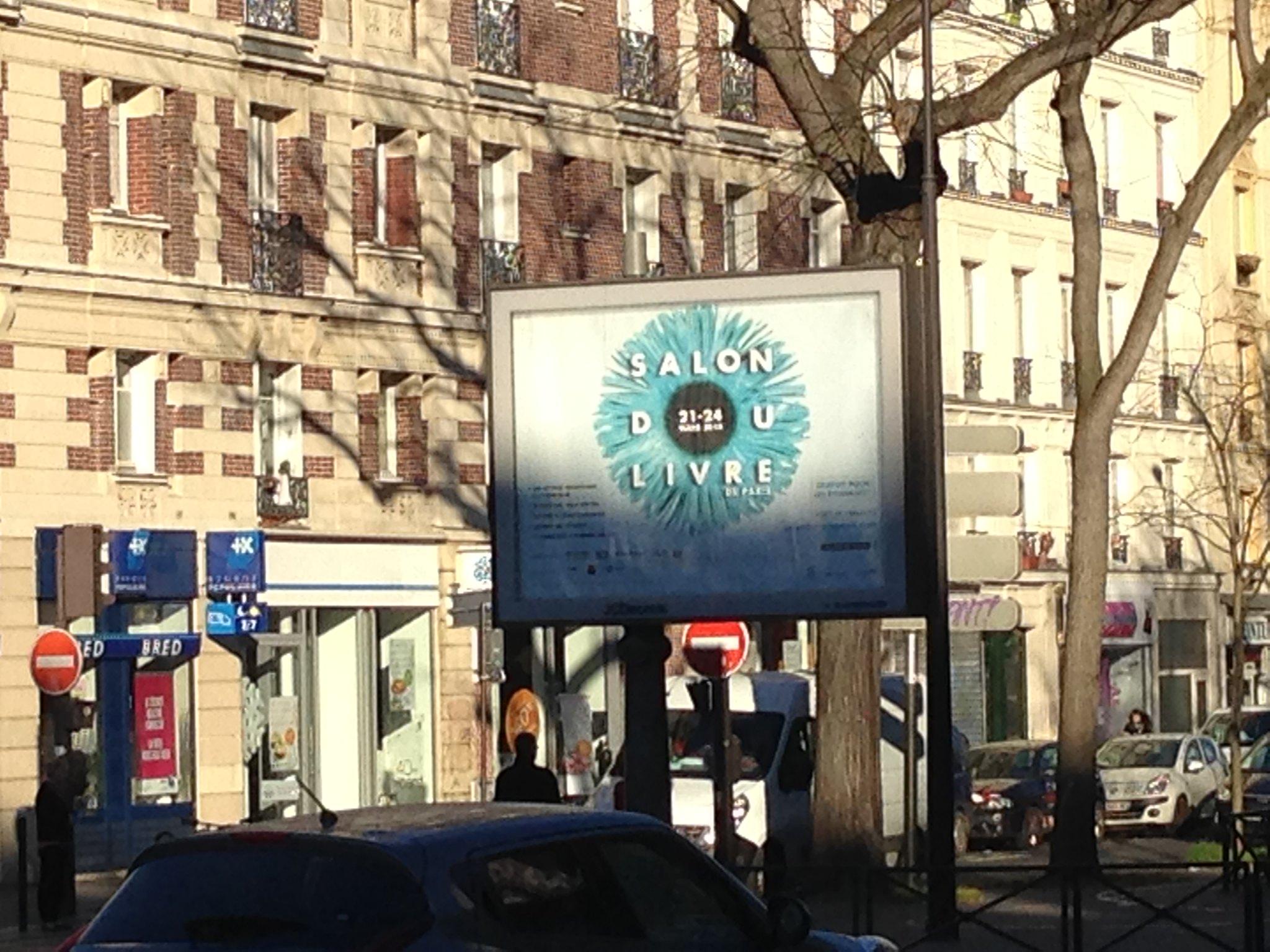 Affiche salon du livre de paris 2014 flickr photo sharing - Le salon du livre paris ...