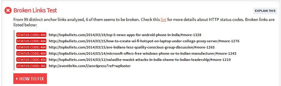 Broken Link - Topbullets.com