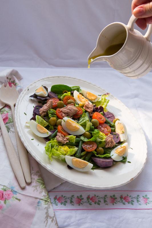 Anikó - salade nicose