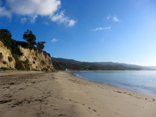paradise cove this morning