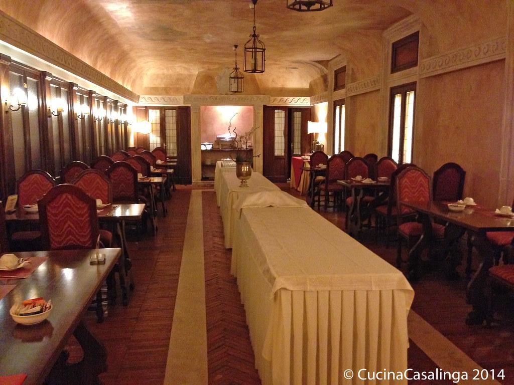 Frühstücksraum Palazzo Cesi