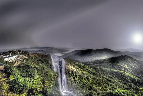 morning nature sunrise waterfall sigma1020 nikond3000