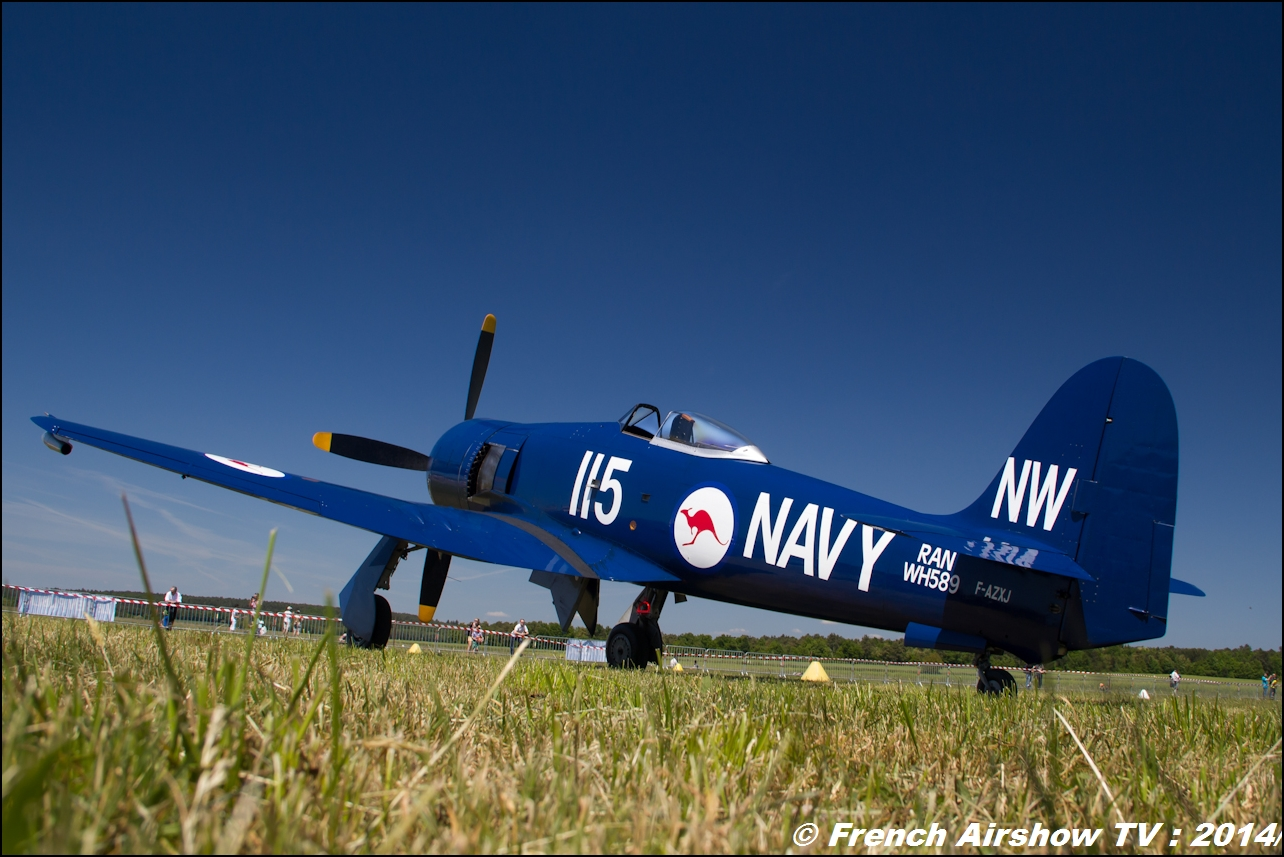 Hawker Sea Fury ,Meeting Aerien 2014