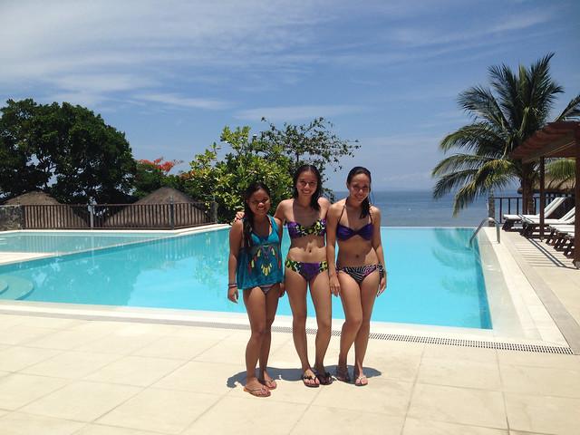 Sdi 2014 outing at palm beach resort in laiya batangas for Beach with swimming pool in batangas