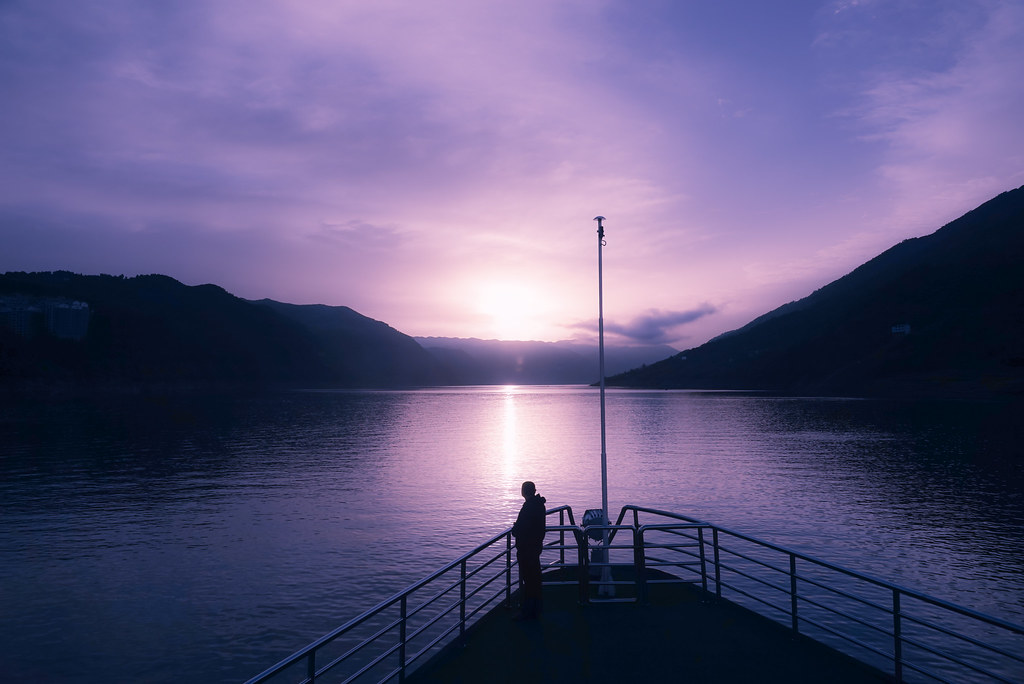 Sunrise @ Yangtze River