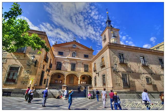 Madrid. Iglesia de San Ginés de Arlés.