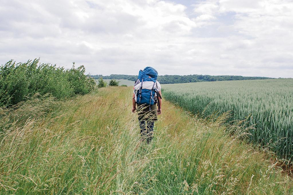 Tourisme vert en Meuse - de la vallée de la Meuse à l'Argonne - À travers champs