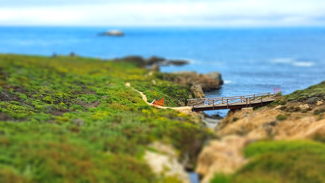 Faux Tilt-shift project