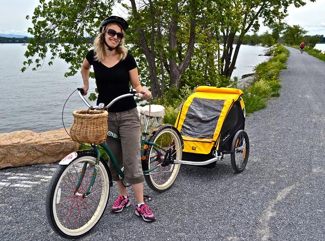 biking tour - burlington vermont lake champlain