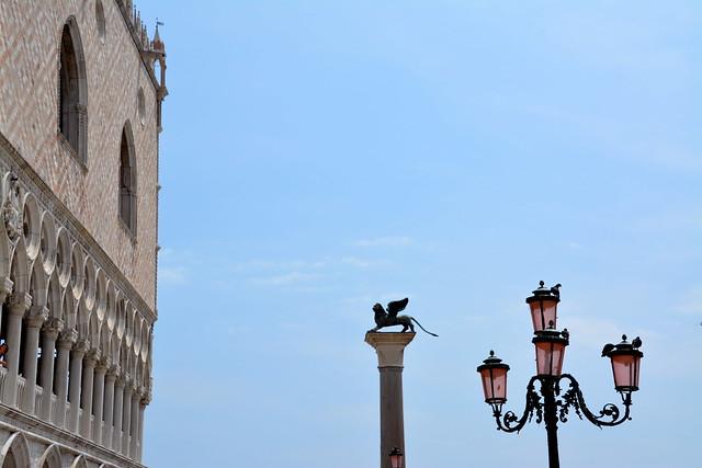 Gevleugelde leeuw, symbool van Venetië