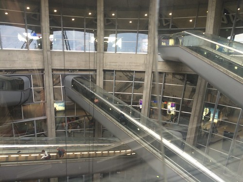 Paris CDG Airport Terminal 1 Escalators