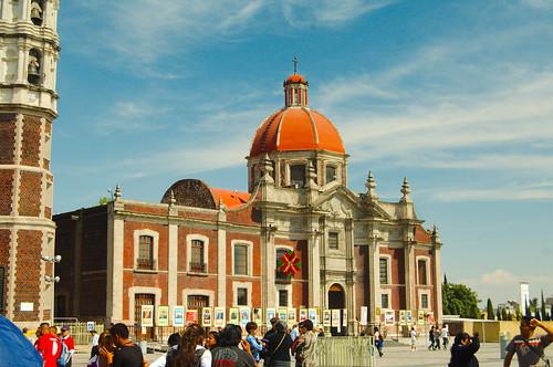 mexico df basilica guadalupe