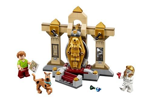 LEGO Scooby Doo 75900 Mummy Museum Mystery 00