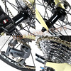 189-529 Performer FANTAST-CLARIS 2400-24速-米黃/藍 平把碟煞小徑車451輪組/7005鋁合金車架-46CM