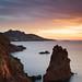 Sunrise on the Cap Dramont ( Cote d'Azur / France ) by AzurScape