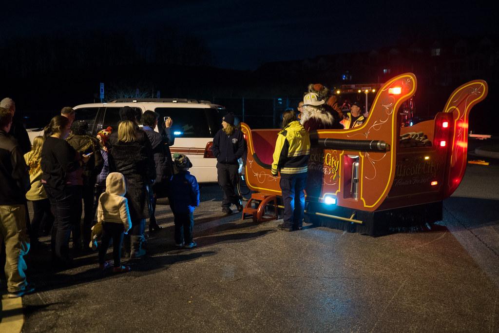 Fire department sleigh