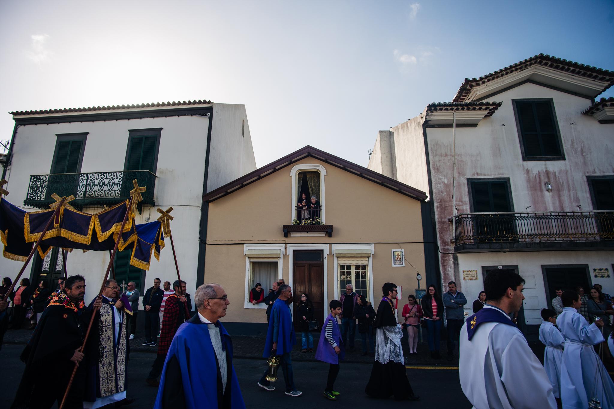 Vallási ünnep Furnasban az Azori-szigeteken