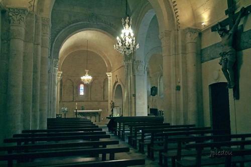 Eglise de Lignan-de-Bordeaux (Gironde - France)...