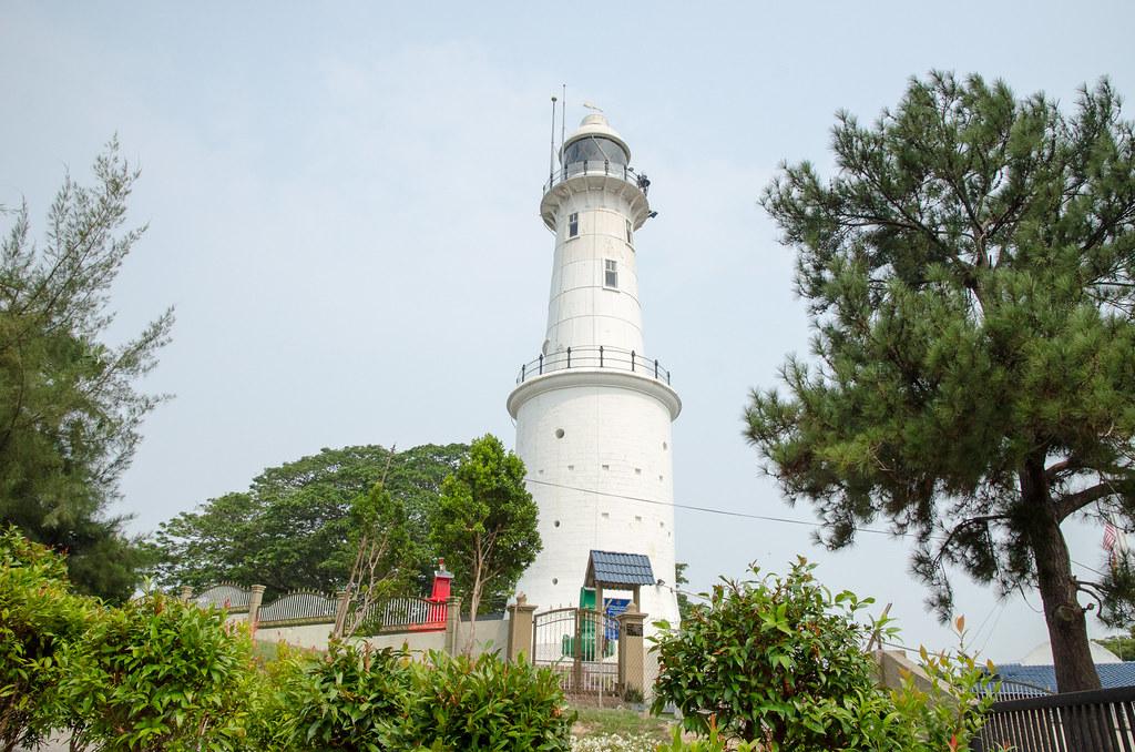 The lighthouse at Bukit Malawati Kuala Selangor.