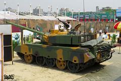 Bangladesh Army upgraded T-59G 'Durjoy' MBT.
