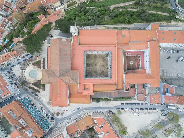 DJI Phantom: Igreja e Convento da Graça Kloster