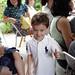 Apresentação dos alunos de musicalização infantil
