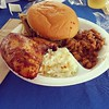 BBQ @The Med's True to the blue tent! My sister Steph got us tixs & wristbands in.