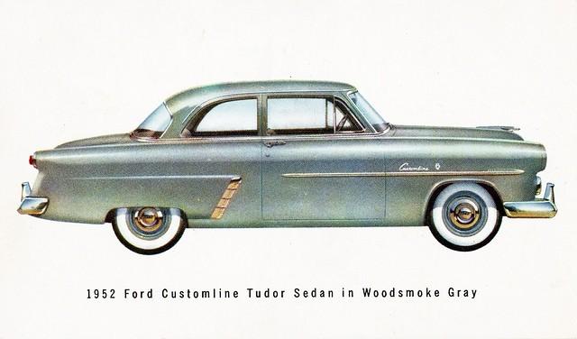 1952 ford customline tudor sedan flickr photo sharing for 1952 ford customline 2 door