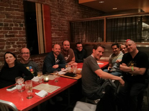 Dinner with Google, Opera, Microsoft and lots of other nice people - San Francisco & Google I/O, May 2013
