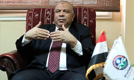 Mohamed El-Katatni, leader of the Freedom and Justice Party (FJP). Egypt and Ethiopia are in a dispute of the diversion by Addis Ababa of Blue Nile waters. by Pan-African News Wire File Photos