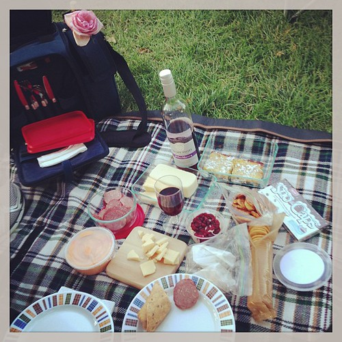 Our picnic spread. YUM