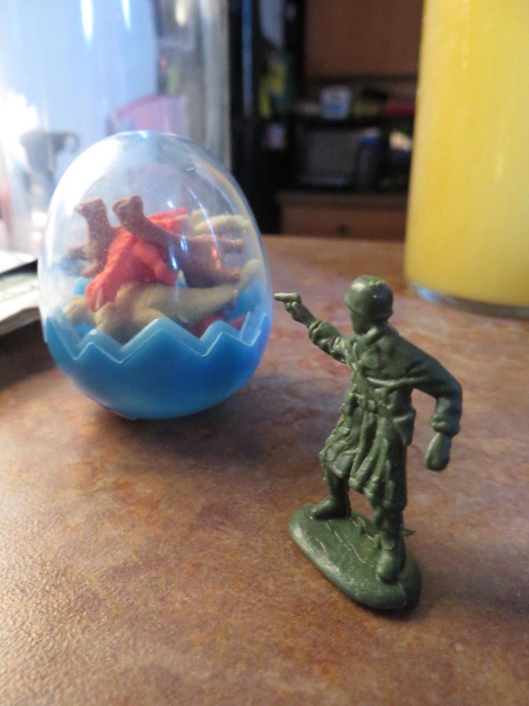 Lt. Dan versus the dinosaurs