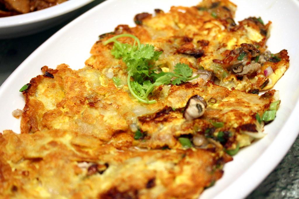 崔华林潮州菜牡蛎煎蛋卷