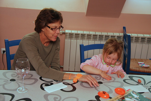 Silly Putty With Grandma