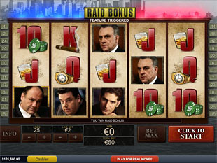 free The Sopranos bonus game