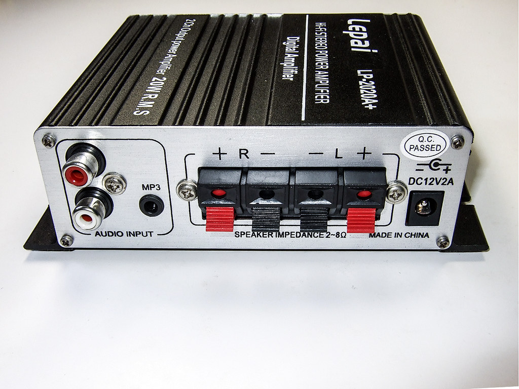 Wts Brand New Lepai Lp 2020a T Amp With Ac Adapter 20w The Is Based On Tripath Ta 2020 Chip This A Rms Two Channel Class Digital Audio Power Amplifier